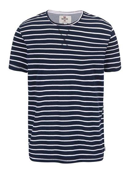 Bílo-modré pruhované triko Bellfield Bayswater
