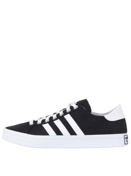 Pantofi sport adidas Originals Court Vantage negri