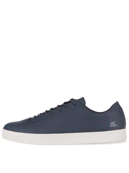 Tmavě modré kožené boty Boxfresh Bxfh