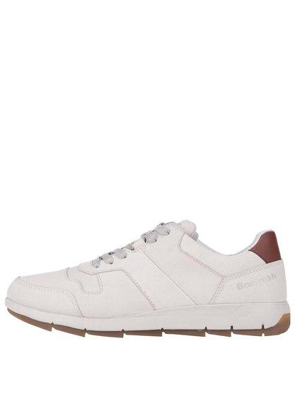 Pantofi sport din piele Boxfresh Ackworth crem