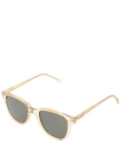 Žluté unisex sluneční brýle Komono Renee