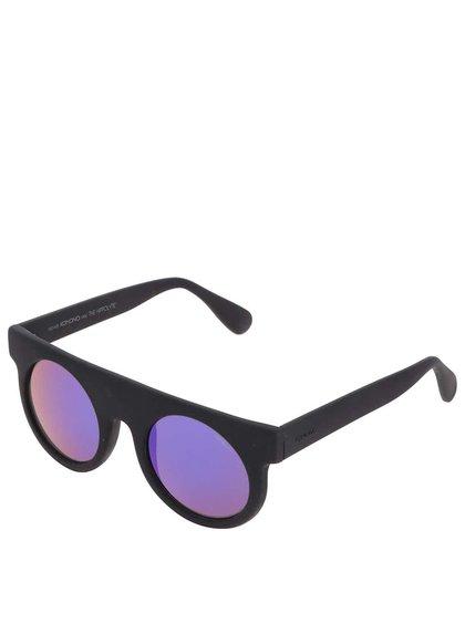 Černé unisex sluneční brýle Komono Hippolyte