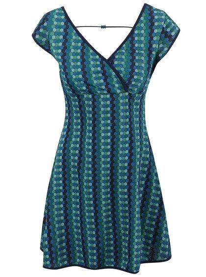 Modro-zelené šaty Tranquillo Mirinda