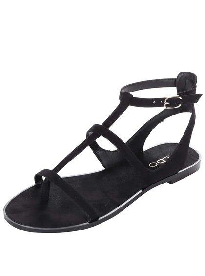 Černé páskové sandály ALDO Tiphanie