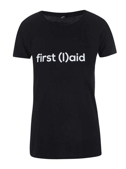 """""""Dobré"""" černé dámské tričko pro PrPom"""