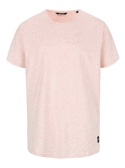 Světle růžové triko ONLY & SONS Kraken