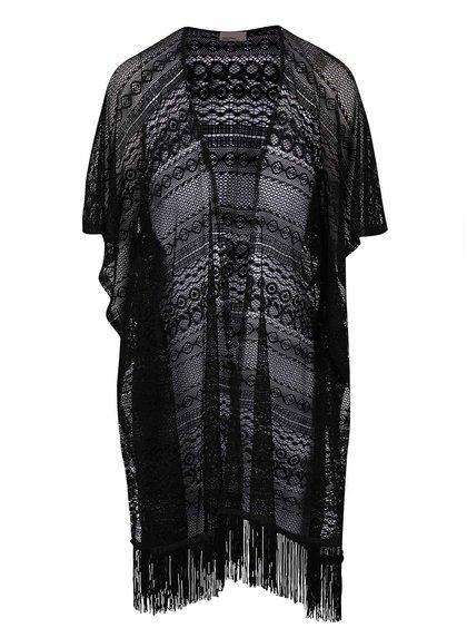 Čierne pončo Vero Moda Mille