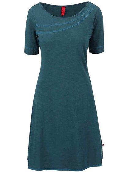 Petrolejové šaty Tranquillo Colline