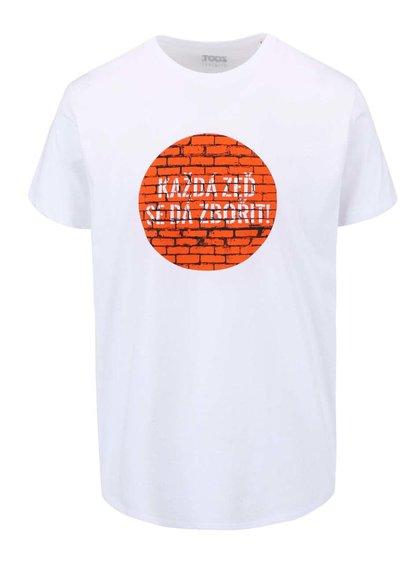 Bílé pánské triko ZOOT Originál Každá zeď