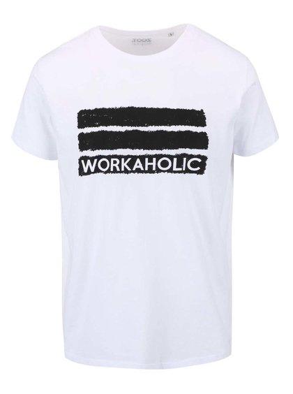 Biele pánske tričko ZOOT Originál Workaholic