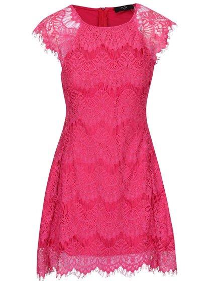 Rochie roz AX Paris cu dantelă