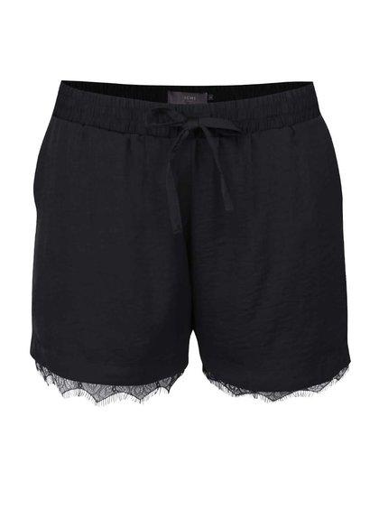 Pantaloni scurți ICHI Fay negri