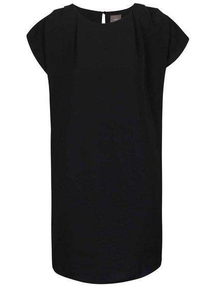 Černé volné šaty ICHI Fay