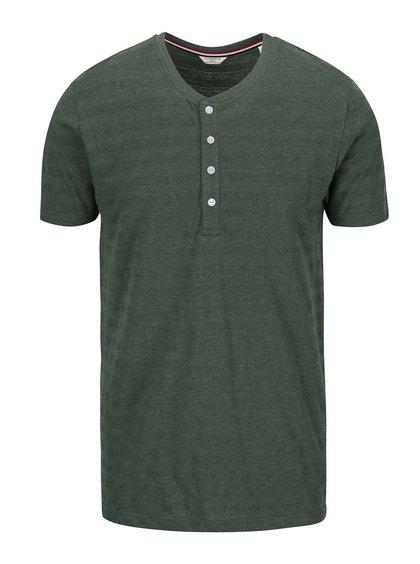Zelené pruhované tričko Lindbergh Sprit