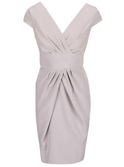 Béžovosivé šaty Closet