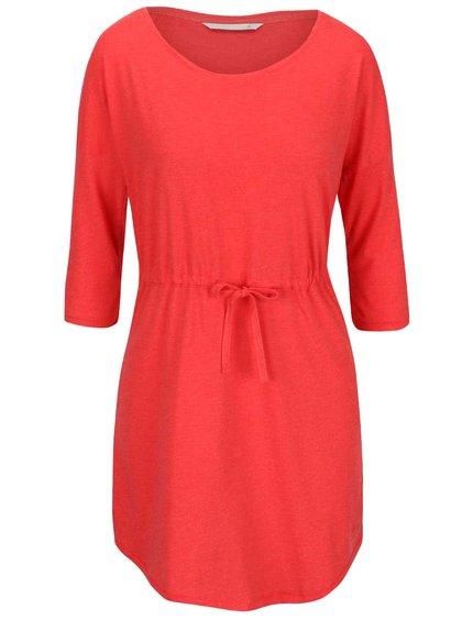 Červené šaty s 3/4 rukávem ONLY May