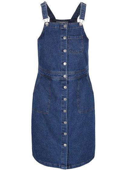 Modré džínové šaty s lacly Dorothy Perkins