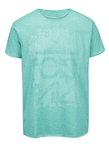Zelené žíhané tričko Shine Original