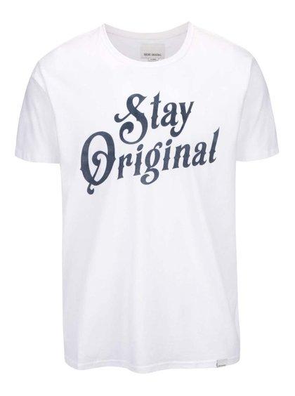 Biele tričko Stay Original Shine Original