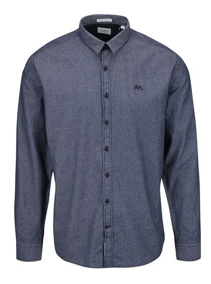 Tmavě modrá pánská košile Lindbergh
