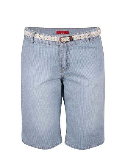 Pantaloni de damă s.Oliver albastru deschis
