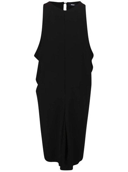 Černé šaty bez rukávů Alchymi Faio