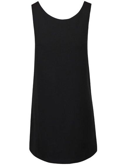 Černé volnější šaty Alchymi Pilea