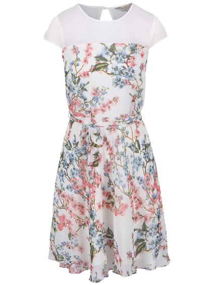Biele kvetované šaty Dorothy Perkins