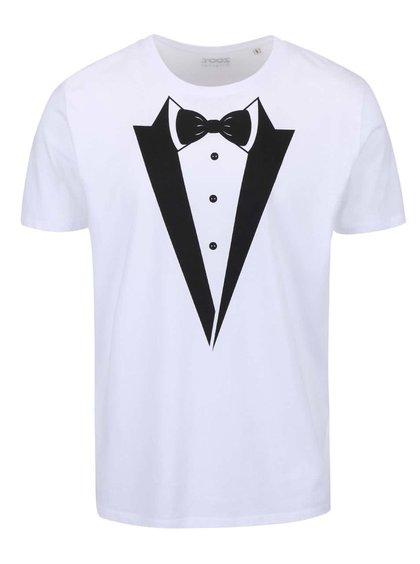 Bílé pánské triko ZOOT Originál - Ženich