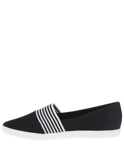 Čierne loafers ALDO Kimilili