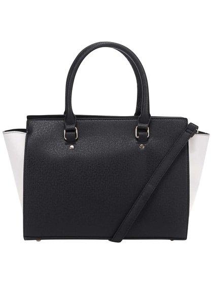 Krémovo-čierna kabelka Haily's Mira