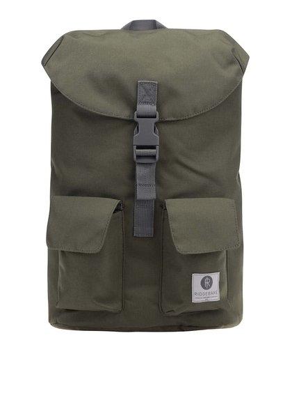 Sivo-zelený unisex stredne veľký batoh Ridgebake Glance