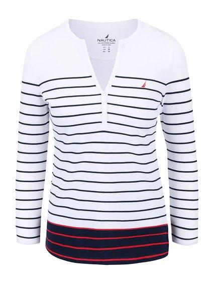 Bluză de damă Nautica albă cu dungi