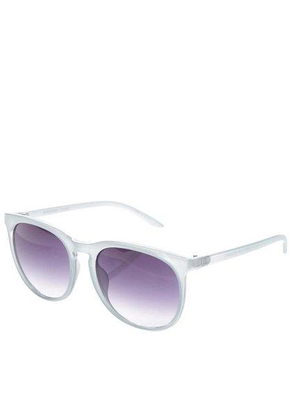 Svetlomodré slnečné okuliare Pieces Banana