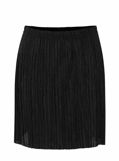 Čierna plisovaná sukňa SisterS Point Nicca