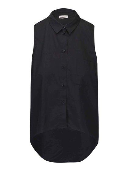 Černá košile bez rukávů Noisy May Cana