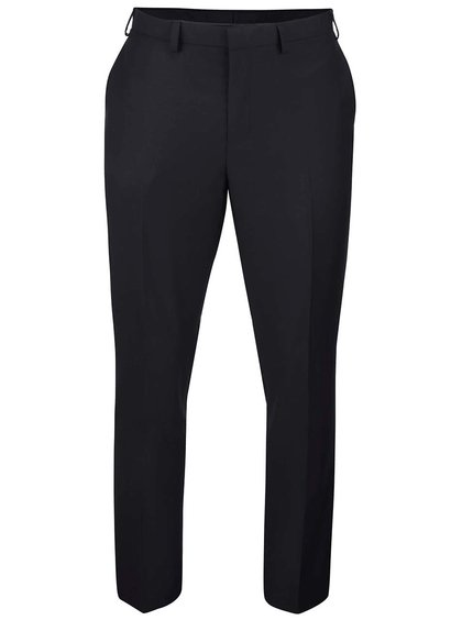 Čierne slim fit nohavice Burton Menswear London