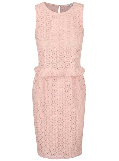 Starorůžové šaty Miss Selfridge
