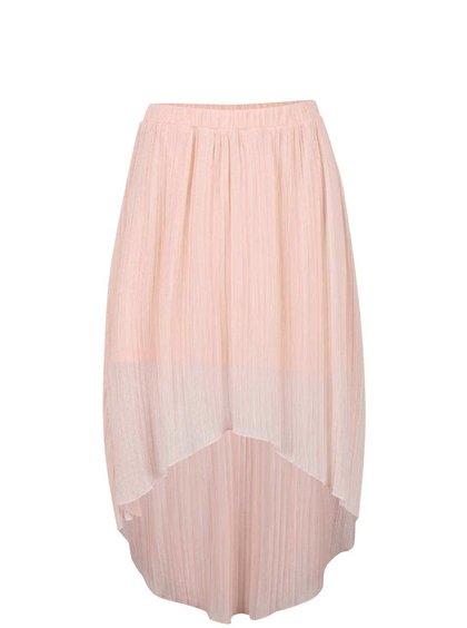 Fustă plisată Miss Selfridge roz