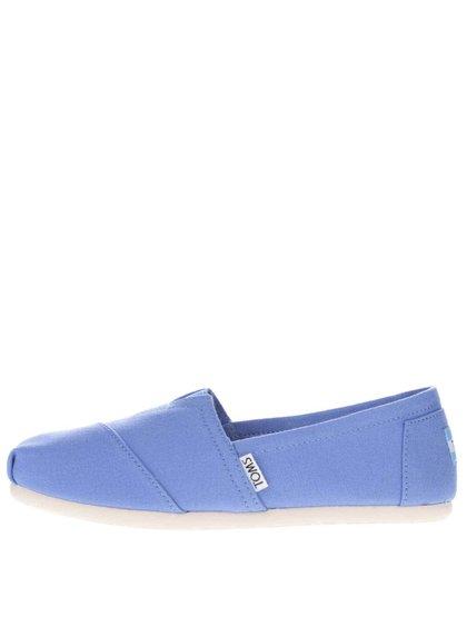 Modré dámské loafers Toms