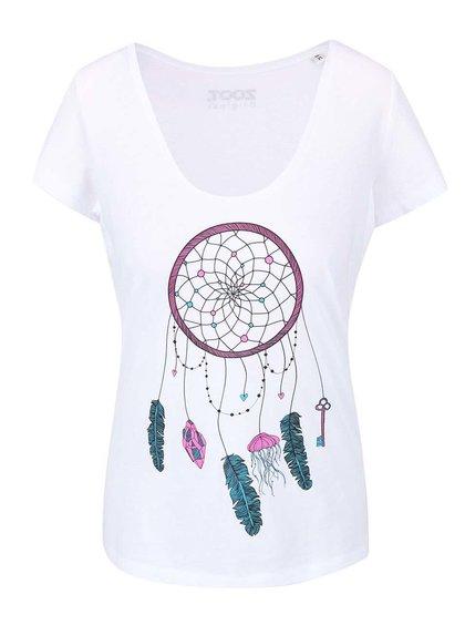 Tricou de damă  ZOOT Originál alb cu print
