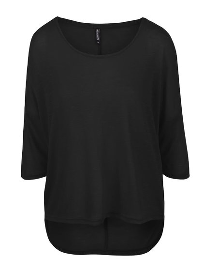 Černý lehký svetr s 3/4 rukávy Haily´s Laureen