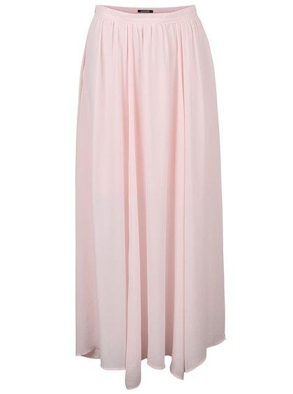 Světle růžová maxi sukně Haily´s Amy