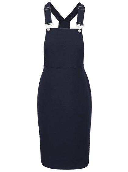 Tmavě modré lacláčové šaty Dorothy Perkins