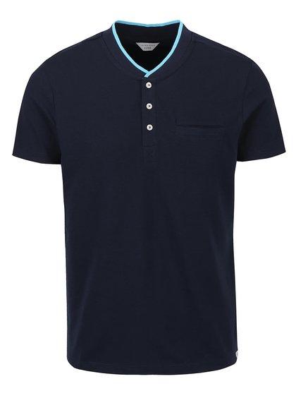 Tmavomodré tričko Jack & Jones Tip
