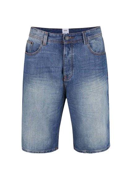 Modré džínové kraťasy Burton Menswear London