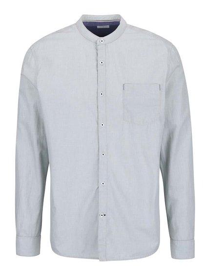 Sivá košeľa bez goliera Burton Menswear London