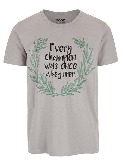 Tricou ZOOT Original Every Champion cu mesaj