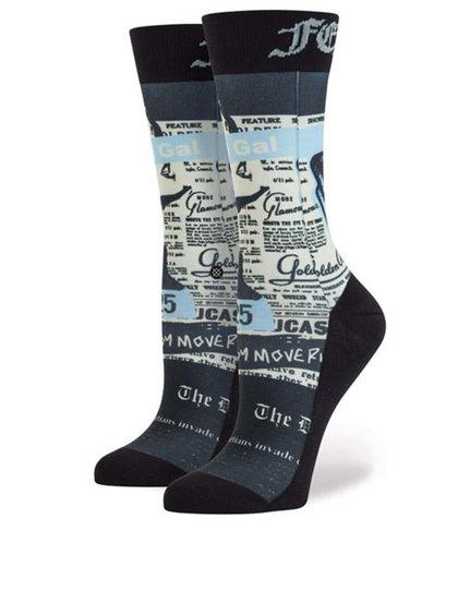 Béžovo-čierne vzorované dámske ponožky Stance Most Wanted