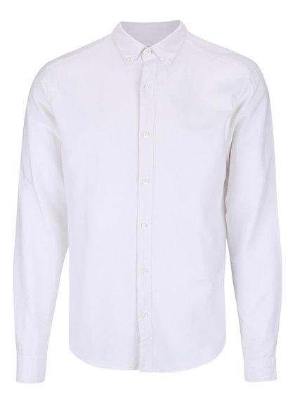 Bílá slim fit košile ONLY & SONS Sebastian
